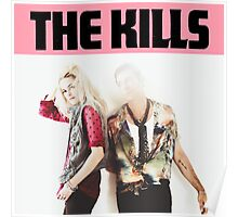 the kills tour 2016 white pinky Poster
