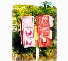 Arzachena: red mailboxes Unisex T-Shirt