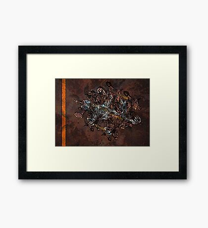 TH64 Framed Print