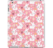 Easter Bunny Pink Pattern iPad Case/Skin