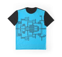 """Connected"" - I'm Blue. Graphic T-Shirt"