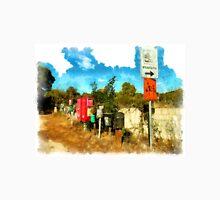 Arzachena: landscape with mailboxes Unisex T-Shirt