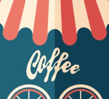 Coffee Shop Sticker