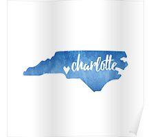 Charlotte, North Carolina  Poster