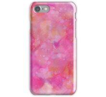 Watercolors, Pink. iPhone Case/Skin