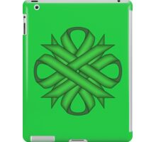 Green Clover Ribbon iPad Case/Skin