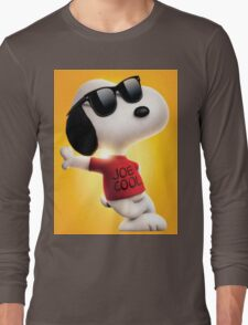 snoopy joe cool Long Sleeve T-Shirt