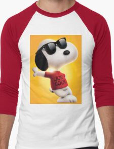 snoopy joe cool Men's Baseball ¾ T-Shirt