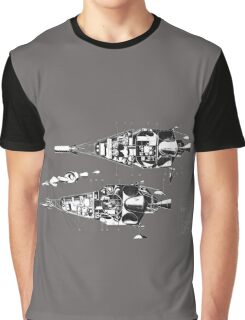 Martin 410 Diagram Cutaway Graphic T-Shirt