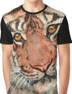 Tiger portrait 884 Graphic T-Shirt