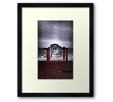 Sea and Old Pier  Framed Print