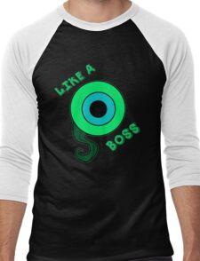 Like a Boss ! (Jacksepticeye) Men's Baseball ¾ T-Shirt