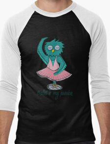 Owl ballerina Men's Baseball ¾ T-Shirt