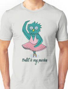 Owl ballerina Unisex T-Shirt