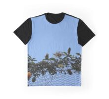 Flowers in the blue Graphic T-Shirt