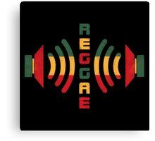 Reggae Music Canvas Print
