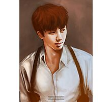 BTS Jin 01 Photographic Print