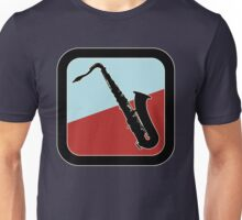 Old Saxophone Sign Unisex T-Shirt
