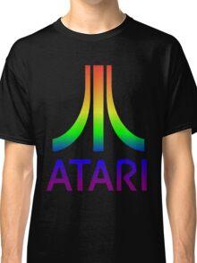 Atari Big Rainbow Logo Classic T-Shirt