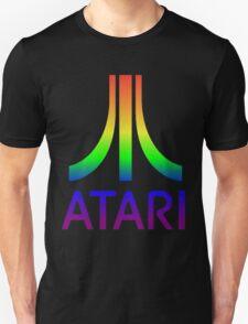 Atari Big Rainbow Logo Unisex T-Shirt