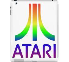 Atari Big Rainbow Logo iPad Case/Skin
