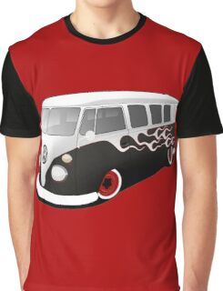 VW On Fire Graphic T-Shirt