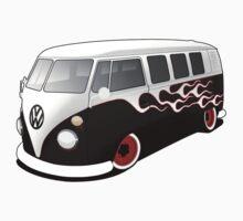 VW On Fire Baby Tee