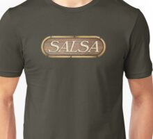 Salsa Vintage Sign Unisex T-Shirt