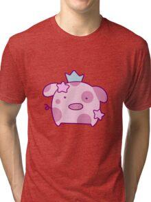 Princess Star Pig Tri-blend T-Shirt