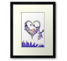 Heartless Reprieve Framed Print