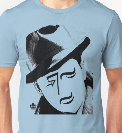 Typortraiture Bogart Unisex T-Shirt
