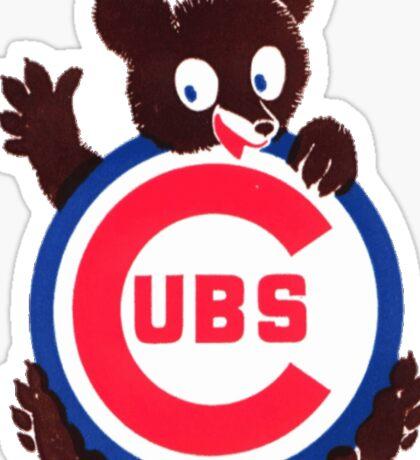 Vintage Chicago Cubs Logo Sticker