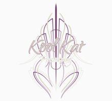 Kool Kat Pinstriping (Purple) One Piece - Short Sleeve