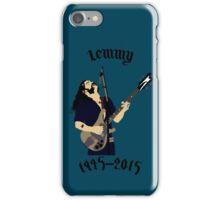 Tribute to Ian Lemmy Kilmister (Motorhead) iPhone Case/Skin