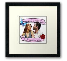 Beatrice and Benedick- True Love Framed Print
