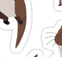 Otters Sticker