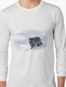 Black Wolf Long Sleeve T-Shirt