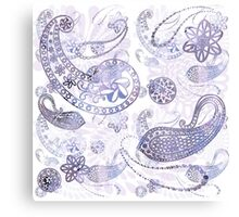 Exotic Silver Canvas Print