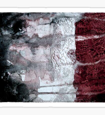 Shadow Flag Sticker