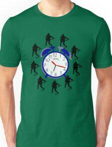 Rock around the clock Unisex T-Shirt
