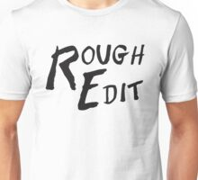 Rough Edit Main Logo Unisex T-Shirt