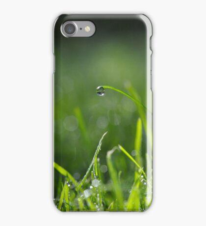 Sunshine droplets iPhone Case/Skin