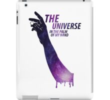 The Universe in The Palm of My Hand iPad Case/Skin