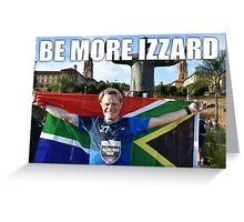 EDDIE IZZARD MARATHON MAN Greeting Card