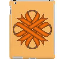 Orange Clover Ribbon iPad Case/Skin