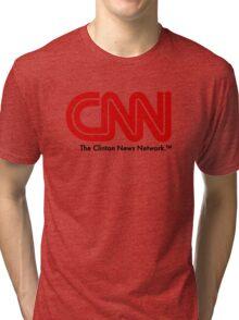 CNN - The Clinton News Network Tri-blend T-Shirt