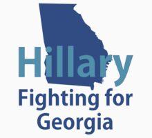 Georgia for Hillary Kids Tee