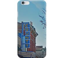 County Theater  iPhone Case/Skin
