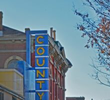 County Theater  Sticker