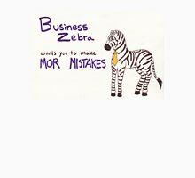 Business Zebra Unisex T-Shirt